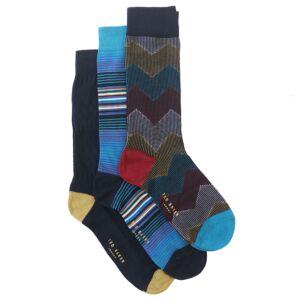 NAVPACK Pack of Three Socks