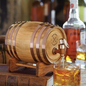 Vintage Whiskey Barrel Drinks Dispenser