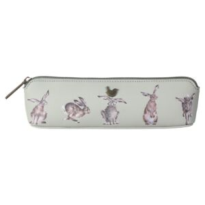'Hare-Brained' Hare Pencil Case/Brush Bag