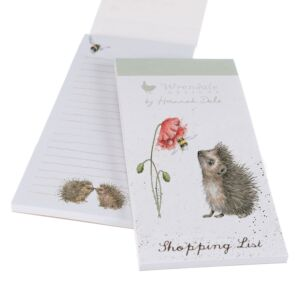 'Busy As A Bee' Hedgehog Magnetic Shopping Pad