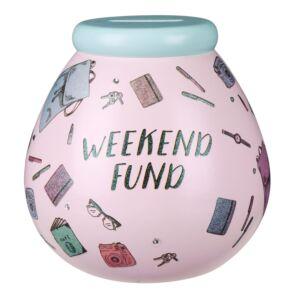 Weekend Fun Fund Money Pot