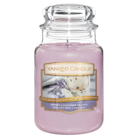 Honey Lavender Gelato Large Jar Candle