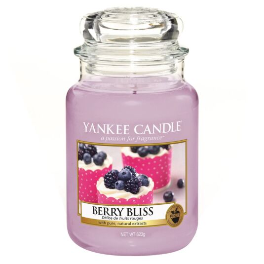 Berry Bliss Large Jar Candle