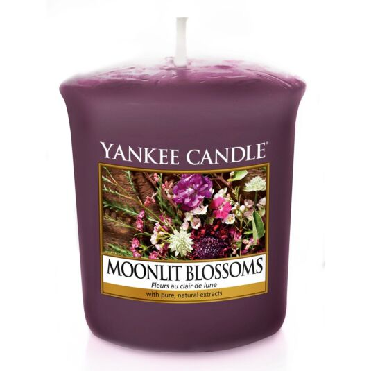 Moonlit Blossoms Sampler Votive Candle