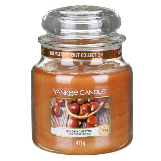 Golden Chestnut Medium Jar Candle