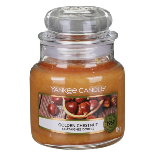 Golden Chestnut Small Jar Candle