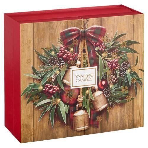 Christmas Advent Calendar.Yankee Candle Alpine Christmas Advent Calendar Book
