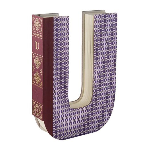 Alphabooks Notebook Letter – U
