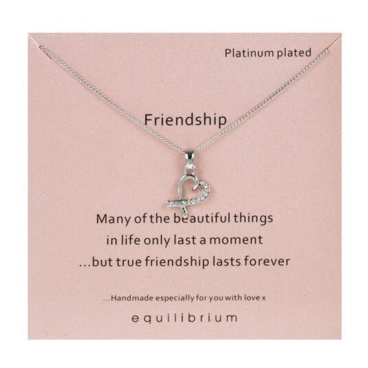 Sentimental 'Friendship' Necklace