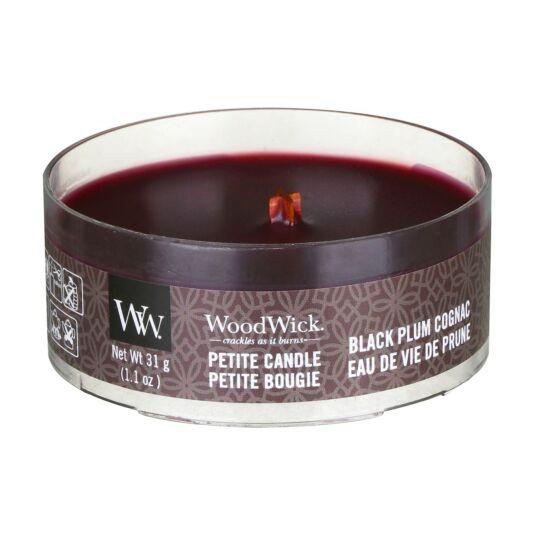 Black Plum Cognac Petite Candle