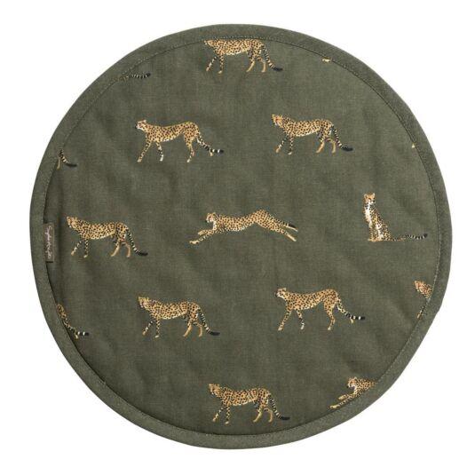 ZSL Cheetah Circular Hob Cover