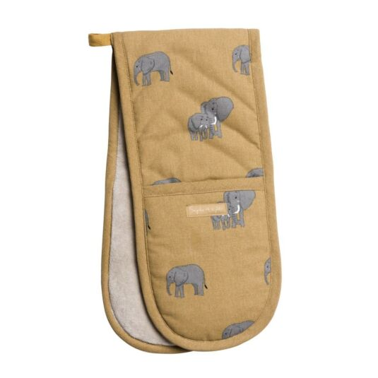 ZSL Elephant Double Oven Glove
