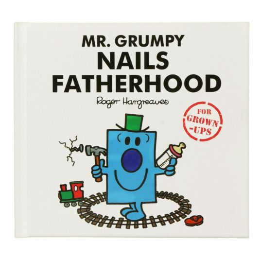 Mr. Grumpy Nails Fatherhood Hardback Book