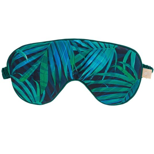 Green Palm Eye Mask