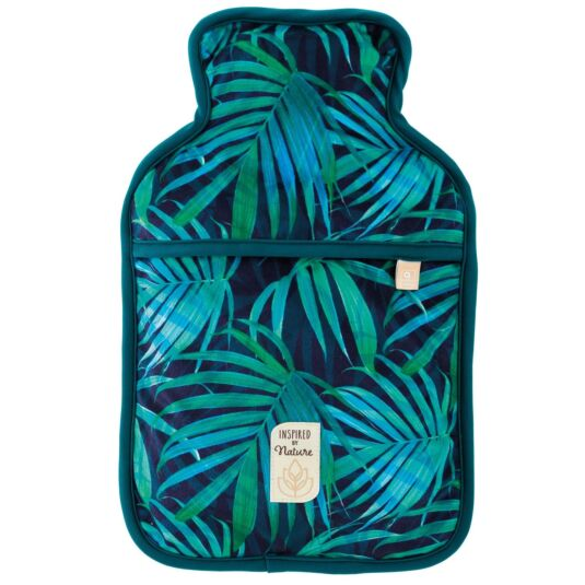 Green Palm Hot Water Bottle