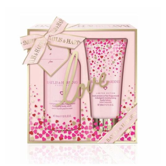 Rosé Prosecco Fizz Two Piece Gift Set