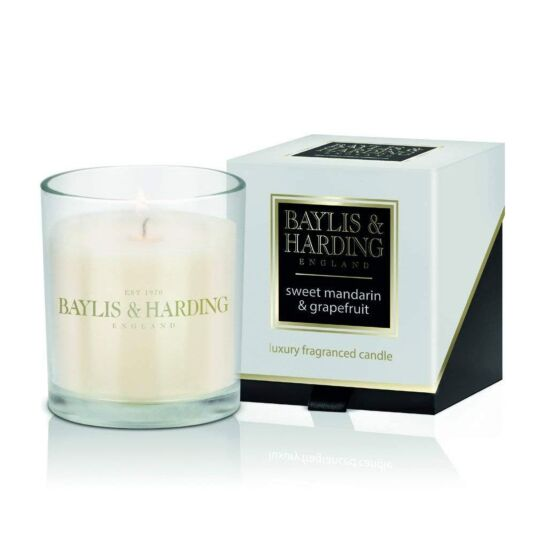 Sweet Mandarin and Grapefruit Candle