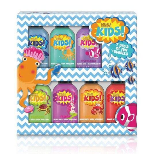 Kids Seven Day Bubble Bath Set