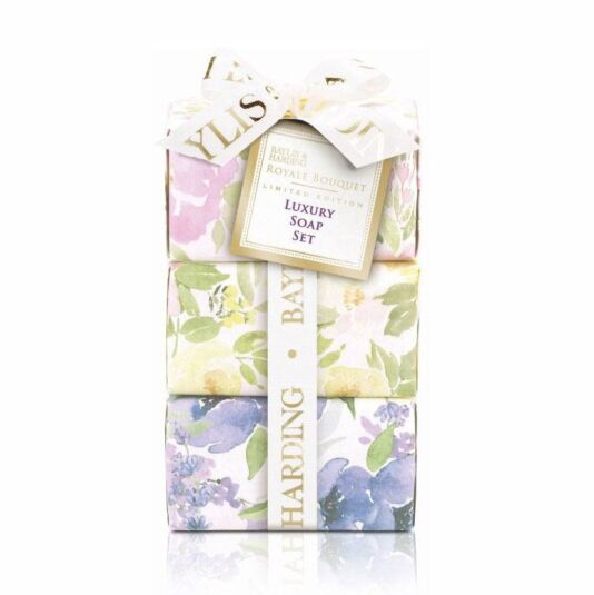 Royal Bouquet Luxury Soap Set