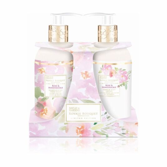 Royale Bouquet Rose and Honeysuckle Two Bottle Gift Set