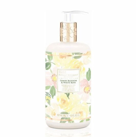 Royale Bouquet Lemon Blossom and White Rose Hand Soap