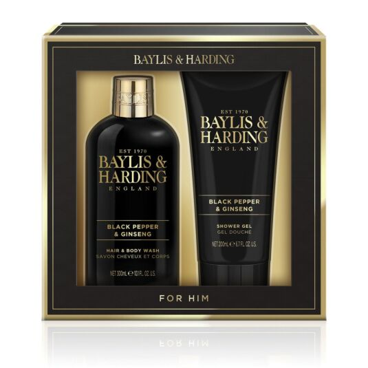 Men's Black Pepper & Ginseng Two Piece Gift Set