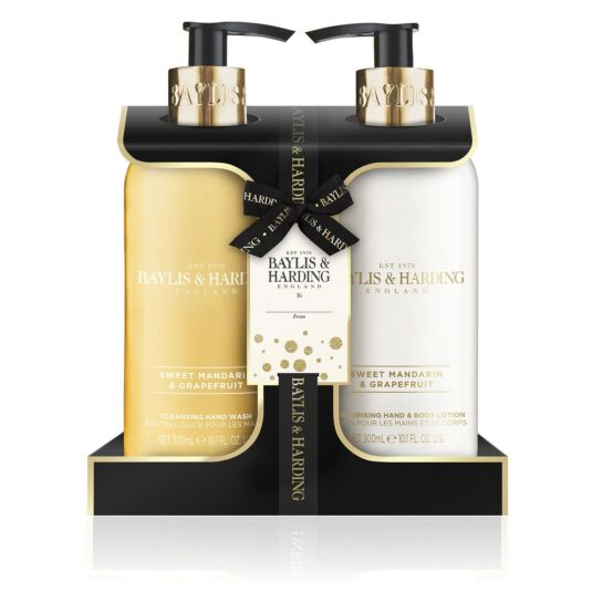 Sweet Mandarin & Grapefruit Hand Wash & Lotion Set