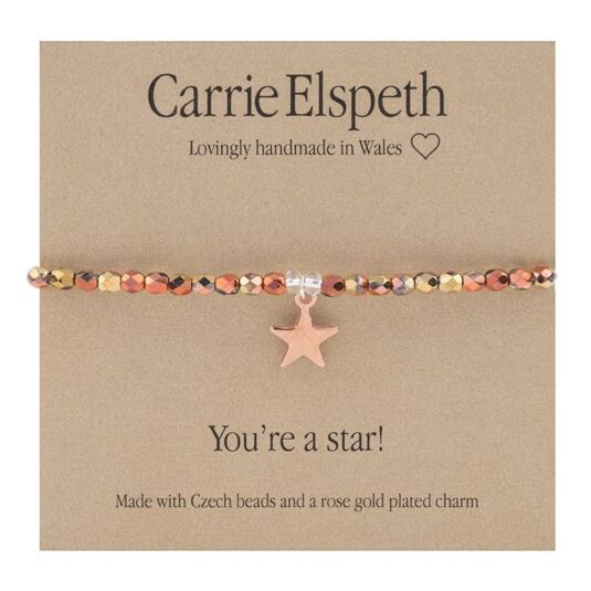 You're a Star Sentiment Bracelet