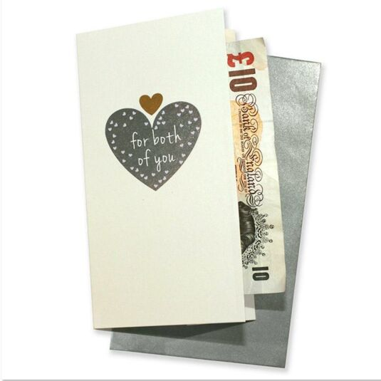 For Both of You Gift Wallet Card