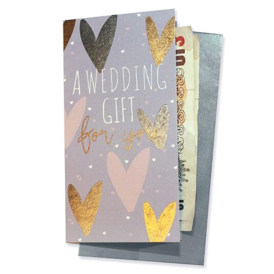 Wedding Gift Wallet Card