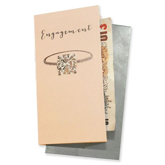 Engagement Gift Wallet Card