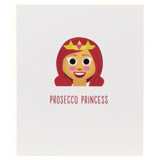 Prosecco Princess Character Icon Card