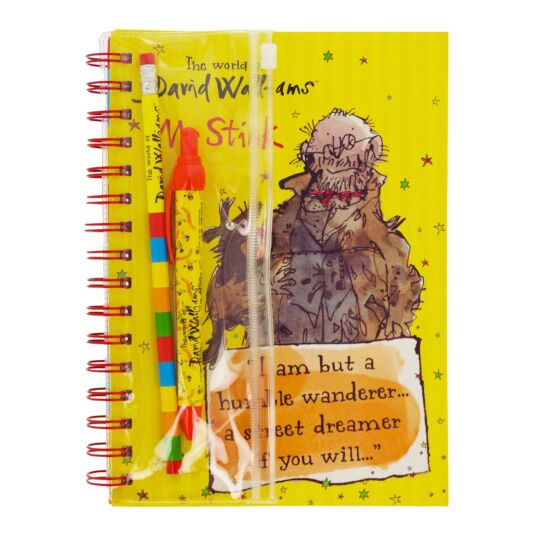 A5 'Mr Stink' Notebook and Writing Set