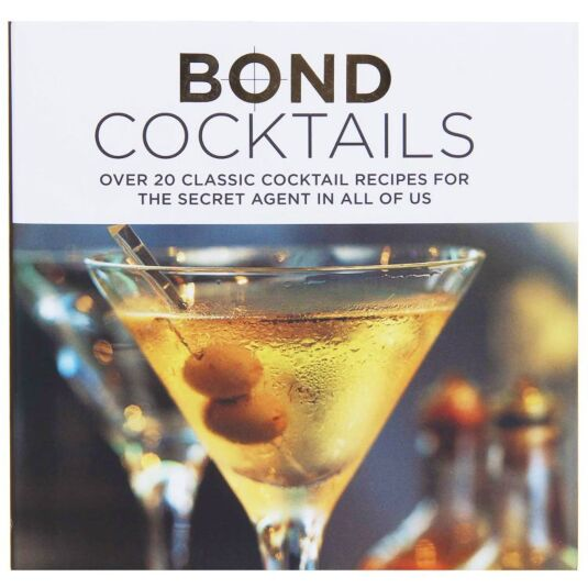 Bond Cocktails Hardback Book