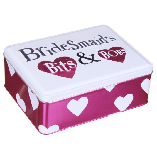 Bridesmaids Bits & Bobs Tin
