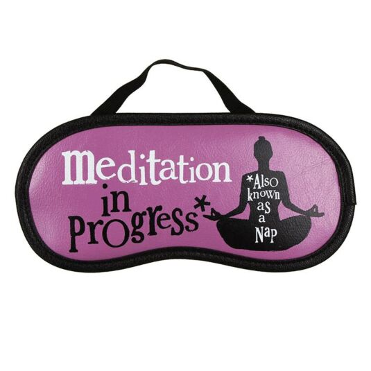 Meditation In Progress Sleep Mask