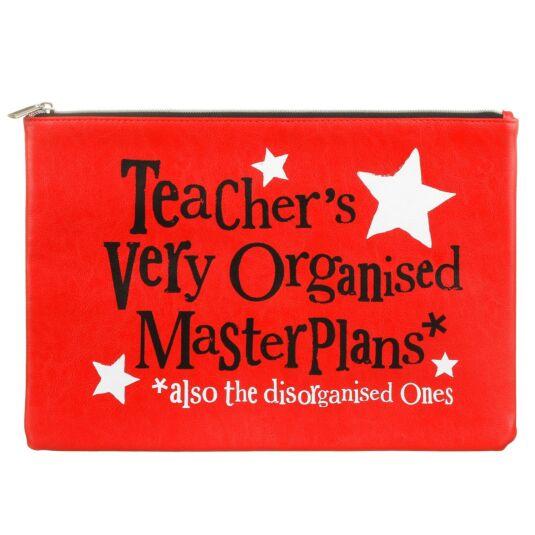 Teachers Very Organised Master Plans A4 Wallet