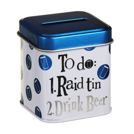 Raid Drink Beer Stash Tin