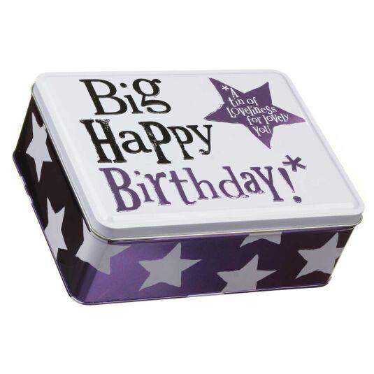 Big Happy Birthday Tin