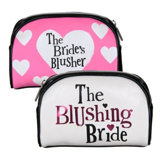 Blushing Bride Cosmetic Bag