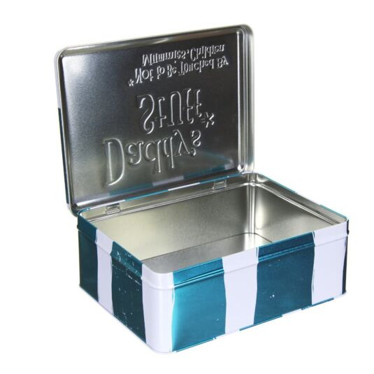Bright Side Starage Tin Daddys Stuff Tin Fathers Day Dad Great Gift NEW