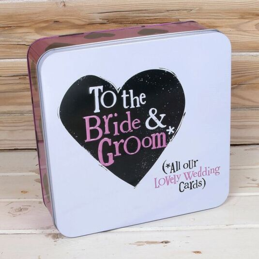 All our lovely Wedding Cards Keepsake Tin
