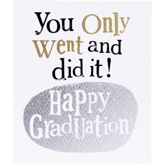 the bright side happy graduation card temptation gifts