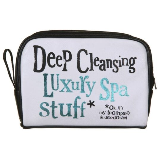 Luxury Spa Wash Bag