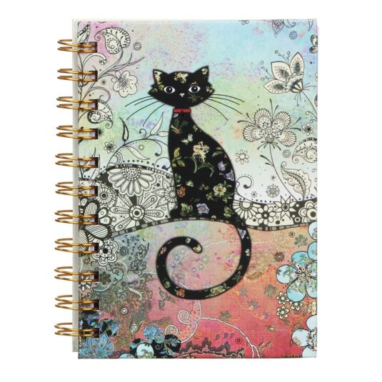 Bug Art Cat A6 Notebook