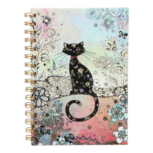 Bug Art Cat A5 Notebook