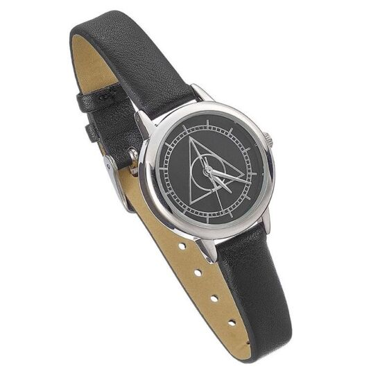 Black Large Deathly Hallows Watch