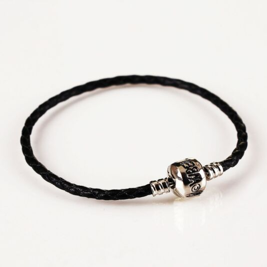 Harry Potter Black Leather Charm