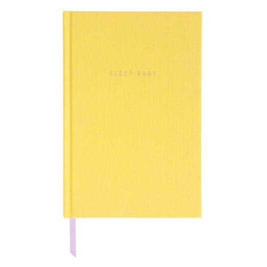 Yellow Bedtime Journal