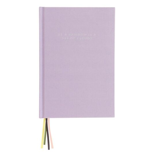 Lilac Multi Ribbon Notebook